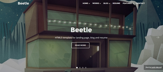 Best Free Responsive HTML5 Templates 2015
