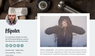 Beautiful & Minimal Free Tumblr Themes 2015