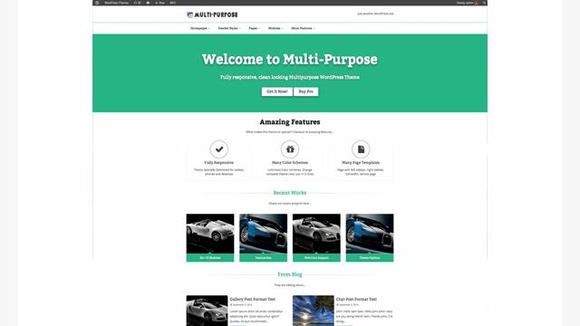 MultiPurpose - Responsive business wordpress themes