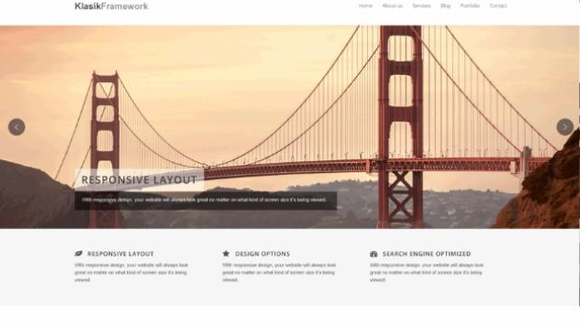 Klasik - Responsive business wordpress themes