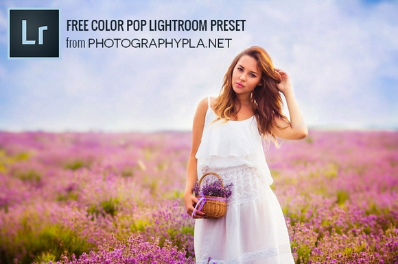 Free Color Pop Lightroom Preset - Best Free Lightroom Presets 2016