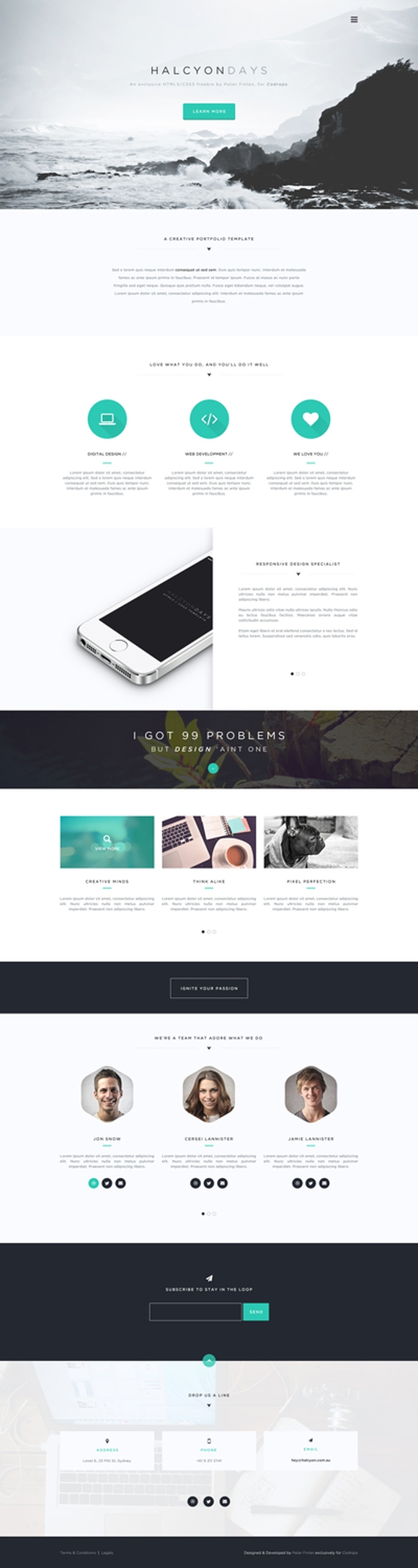 HALCYON DAYS PSD TEMPLATE