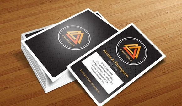 Business Card Design Templates – Illustrator Vector Patterns #1