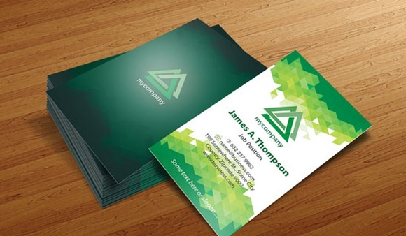 Business Card Design Templates – Illustrator Vector Patterns #2