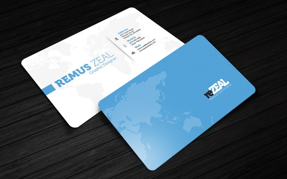BUSINESS CARD TEMPLATE – REZEAL