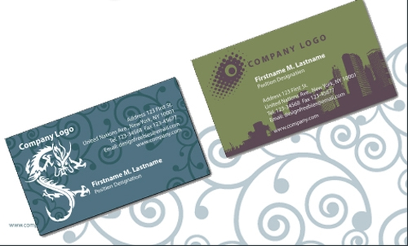 Illustrator Business Cards and Letterheads