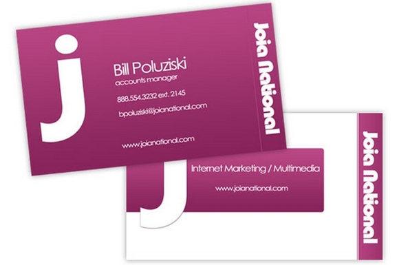 Joia Business Card