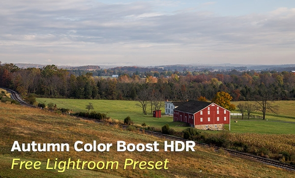 Free Autumn Color Boost HDR Lightroom Preset