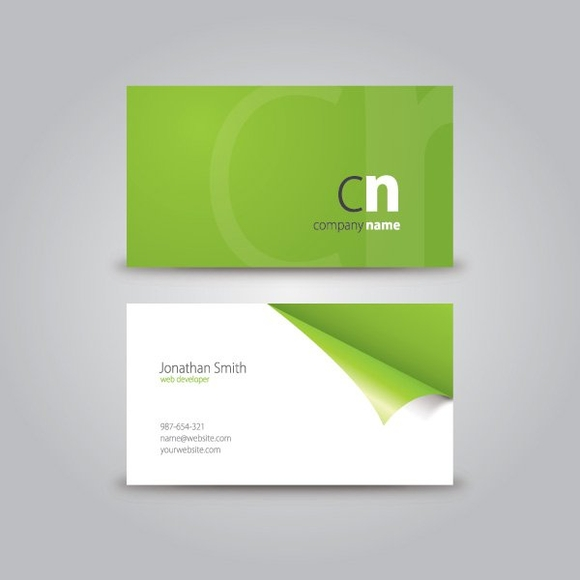 Personal Business Card Illustrator Template