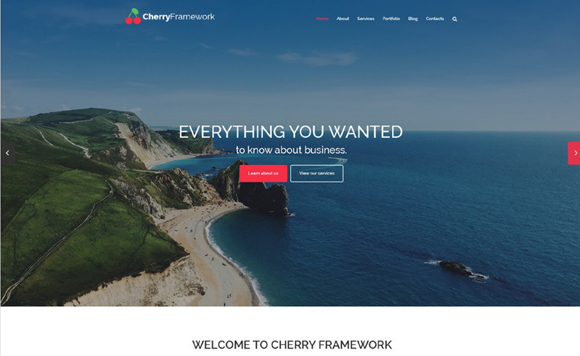 cherry Framework Free WP Theme 2