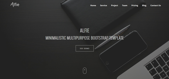 40 best free bootstrap website templates 2016 for Free bootstrap templates 2017