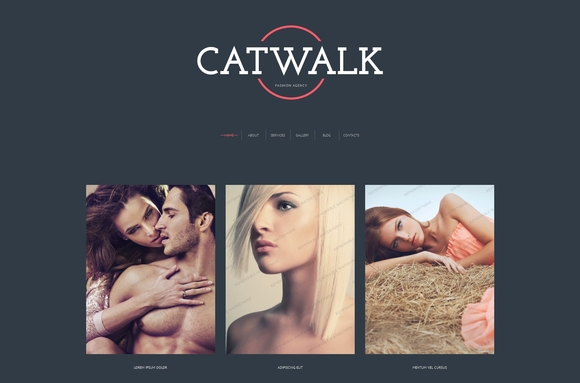 CatWalk Free Bootstrap Theme