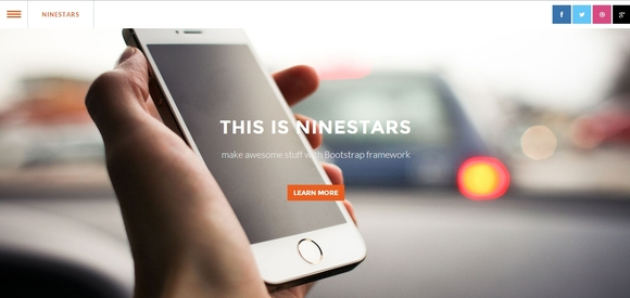 Ninestars - Best Free Bootstrap Templates 2016