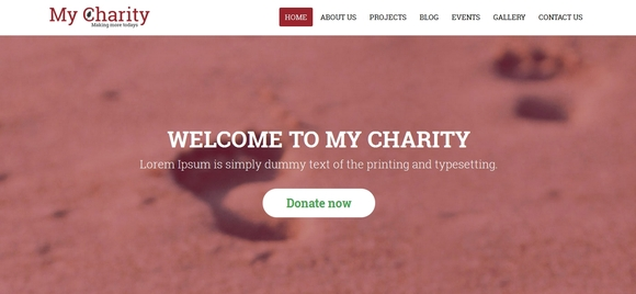My Charity - Best Bootstrap Website Templates 2016