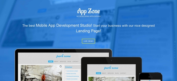 App Zone - Best Bootstrap Templates 2016