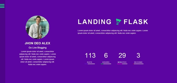Flask Landing - Best Bootstrap Templates 2016