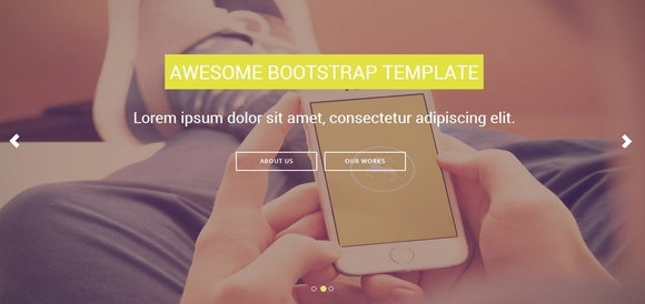 Shuffle - Best Bootstrap Templates 2016