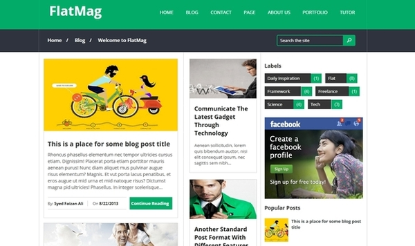 Free Blog Templates Download | Naija Shakers Blogger Themes