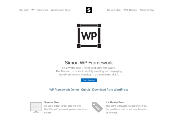 Simon WordPress Framework