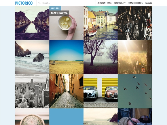 Pictorico - Best wordpress themes 2016