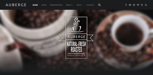 Auberge - Best Free WordPress Themes 2016