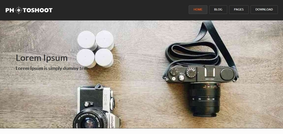 Photoshoot - Best WordPress Themes 2016