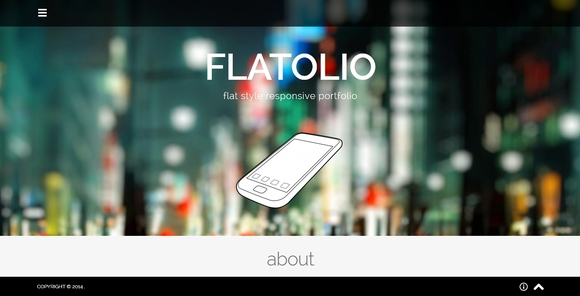 Flatolio - Best Free wordpress themes 2016
