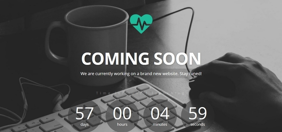 Heartbeat - best free coming soon pages or under construction website templates 2016