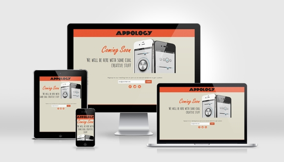 Appology - free coming soon html5 website templates 2016